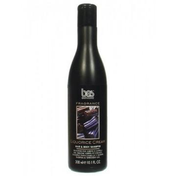 BES Fragrance Liquorice Cream hair & body shampoo 300ml