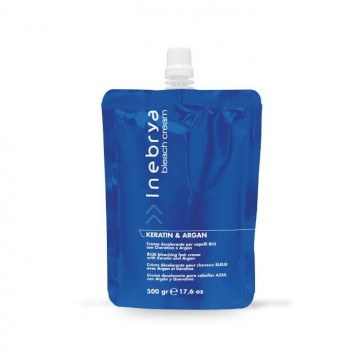 Blue Bleaching Hair Cream - Keratin & Argan 500gr