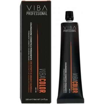 VIBA Color 100ml - 6.45 Dark Copper Mahogany Blonde