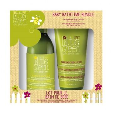Little Green Baby Bathtime Bundle – Geschenkset
