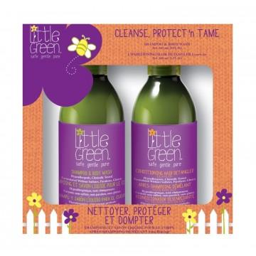 Little Green Kids Cleanse, Protect 'n Tame – Geschenkset
