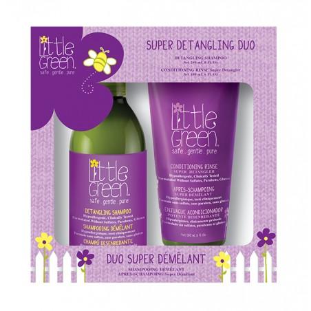 Little Green Kids Super Detangling Duo - Gift Set 240 + 180 ml