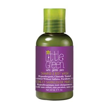 Little Green Kids Shampoo und Duschgel 60ml
