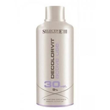 SELECTIVE Decolorvit 9% 30 Vol. Active Use Oxydant, 750ml